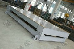 钢材缓冲5吨电子地磅